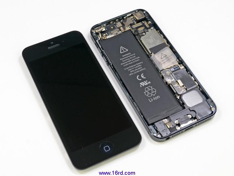 apple5代苹果高清拆机图解