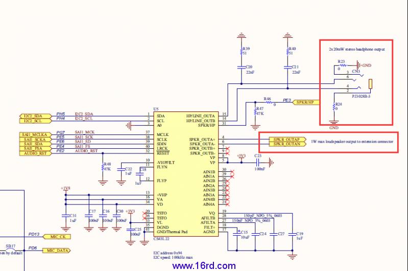 在stm32f469i-disco开发板上